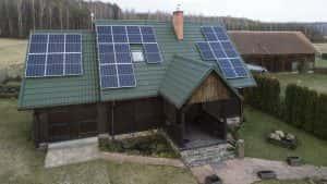 Instalacja fotowoltaiczna 7.15 kWp Jedwabno front domu