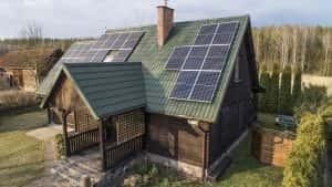 Instalacja fotowoltaiczna 7.15 kWp Jedwabno podwórko