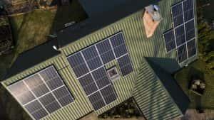 Instalacja fotowoltaiczna 7.15 kWp Jedwabno widok z boku