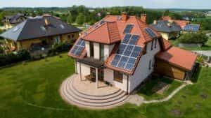 Instalacja fotowoltaiczna 6,5 kWp Gdańsk widok z frontu