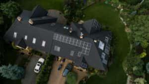 Instalacja fotowoltaiczna 7,9 kWp Wiązowna widok z góry