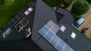 Instalacja fotowoltaiczna 7,9 kWp Wiązowna zbliżenie