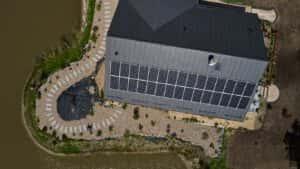 Instalacja fotowoltaiczna 9,9 kWp Trutnowo widok z góry