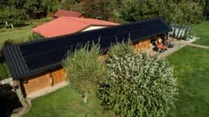 Instalacja fotowoltaiczna 9,9 kWp Rekowo Górne widok z góry