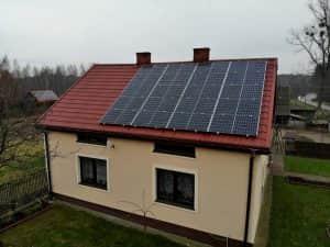 Instalacja fotowoltaiczna 6.8 kWp widok z frontu