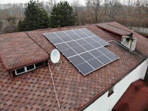 Instalacja fotowoltaiczna 4.76 kWp zbliżenie