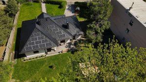 Instalacja fotowoltaiczna 4.76 kWp Urle widok z góry