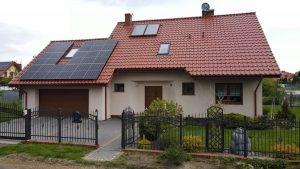 Instalacja fotowoltaiczna 6.16 kWp Świdnik zachód