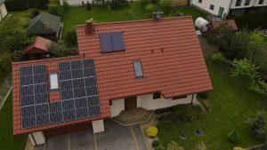 Instalacja fotowoltaiczna 6.16 kWp Świdnik zbliżenie