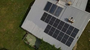 Instalacja fotowoltaiczna 5.74 kWp Choroszcz widok z góry