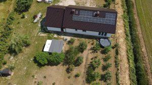 Instalacja fotowoltaiczna 7.4 kWp Mętlew front