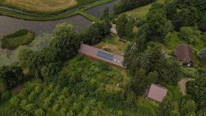 Instalacja fotowoltaiczna 9.02 kWp Kuryły z góry