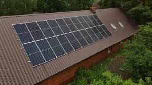 Instalacja fotowoltaiczna 9.02 kWp Kuryły zachód