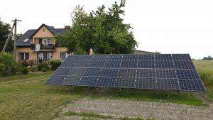 Instalacja fotowoltaiczna na gruncie 5.92 kWp Wólka Komorowska panele selfa