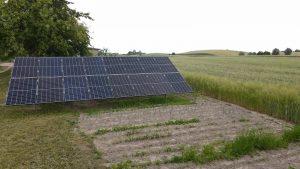 Instalacja fotowoltaiczna na gruncie 5.92 kWp Wólka Komorowska w gospodarstwie rolnym